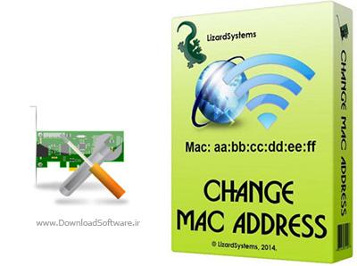 دانلود LizardSystems Change MAC Address تغییر مک آدرس کارت شبکه