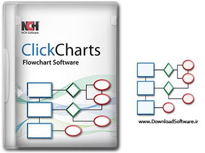 دانلود NCH ClickCharts Pro – نرم افزار ترسیم فلوچارت و نمودار سازمانی