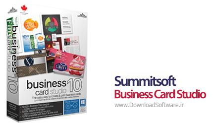 دانلود Summitsoft Business Card Studio Deluxe نرم افزار طراحی حرفه ای کارت ویزیت