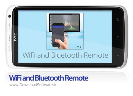 دانلود WiFi and Bluetooth Remote – تبدیل گوشی های اندروید به ماوس و کیبورد بی سیم