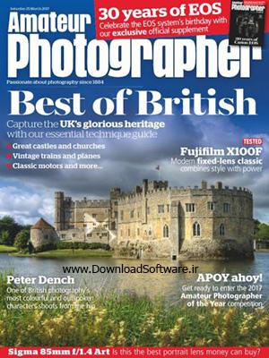 دانلود مجله عکاسی Amateur Photographer -- 25 March 2017