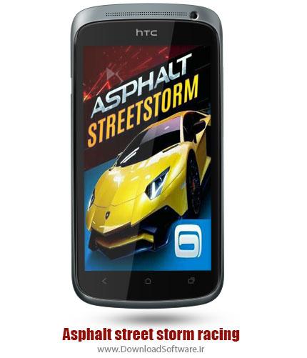 دانلود Asphalt street storm racing بازی مسابقه آسفالت طوفان خیابان برای اندروید