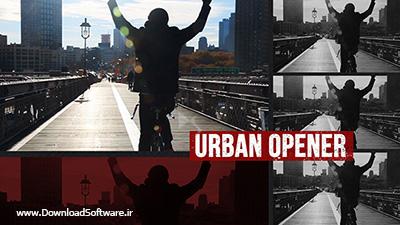 دانلود پروژه افترافکت Dynamic Urban Opener