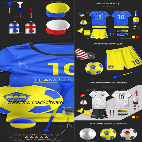 Football Set Mock-Up