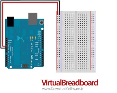 دانلود نرم افزار شبیه سازی مدارهای یکپارچه VirtualBreadboard