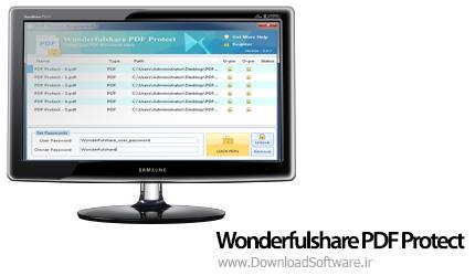 دانلود برنامه Wonderfulshare PDF Protect محافظت از فایل PDF