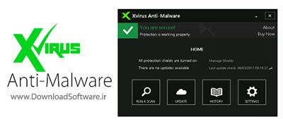 دانلود برنامه محافظت از سیستم در برابر ابزارهای مخرب Xvirus Anti-Malware