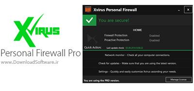 دانلود نرم افزار فایروال قدرتمند Xvirus Personal Firewall Pro
