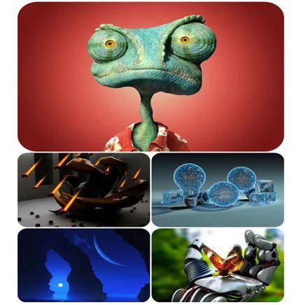 دانلود تصاویر والپیپر 3D graphics wallpaper collection