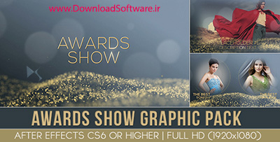 دانلود پروژه افترافکت Award Show graphic pack - Project for After Effects