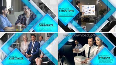 دانلود پروژه افترافکت Company Presentation
