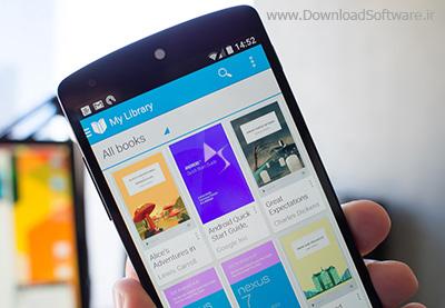 دانلود Google Play Books نرم افزار کتاب خوان گوگل