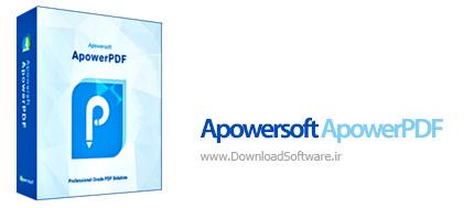 دانلود Apowersoft ApowerPDF ابزار کار با اسناد پی دی اف