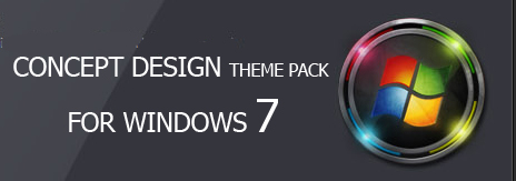 دانلود Concept Design Theme Pack for Windows 7 مجموعه تم ویندوز 7