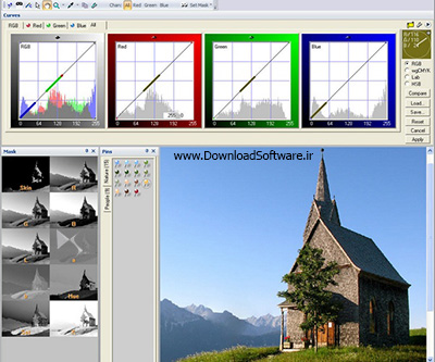 دانلود Curvemeister for Photoshop پلاگین تنظیم رنگ در فتوشاپ