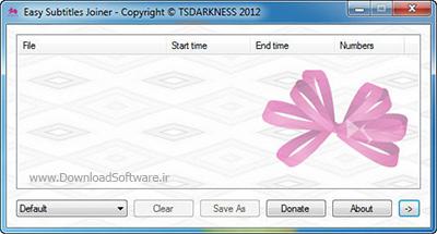 دانلود Easy Subtitles Joiner نرم افزار ادغامسازی فایلهای زیرنویس