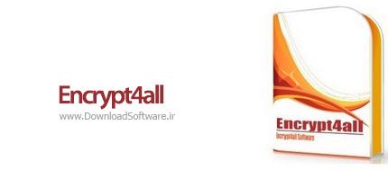 دانلود Encrypt4all Pro Edition نرم افزار رمزگذاری فایل ها و پوشه ها
