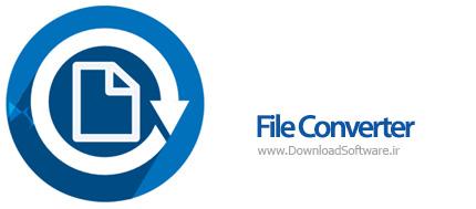 دانلود File Converter نرم افزار مبدل فایل های مختلف