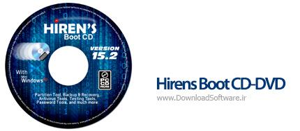 دانلود Hirens Boot CD-DVD نرم افزار دیسک نجات هایرنز برای ویندوز