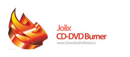 دانلود Jolix CD-DVD Burner + portable نرم افزار رایت دی وی دی و سی دی