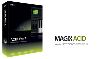 دانلود MAGIX ACID Pro نرم افزار ایجاد موسیقی حرفه ای
