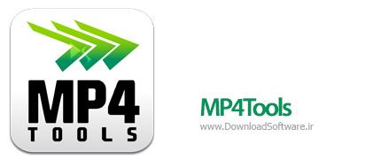 دانلود MP4Tools + Portable نرم افزار ابزار کار با MP4