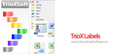 دانلود TrioX Labels – نرم افزار برچسب گذاری و رنگی کردن فایل ها و پوشه ها
