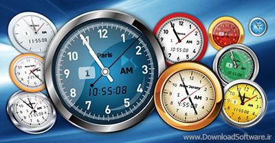 دانلود Vector Clock Pro نرم افزار طراحی وکتورهای زیبای ساعت