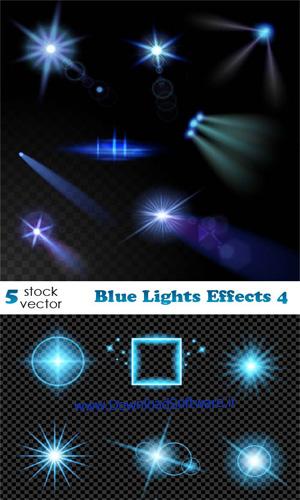 دانلود تصاویر وکتور جدید روشنایی آبی