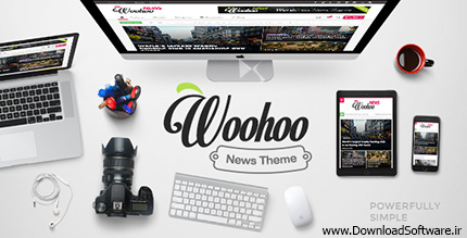 Wordpress - Woohoo - Modish News, Magazine and Blog Theme