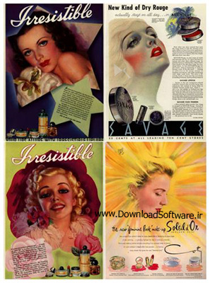 دانلود تصاویر تبلیغاتی آرایشی و بهداشتی