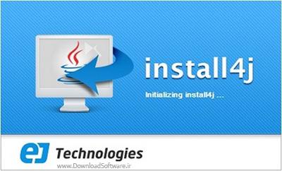 دانلود EJ Technologies Install4j MultiPlatform Edition - نرم افزار پکیج برنامه نویسی جاوا