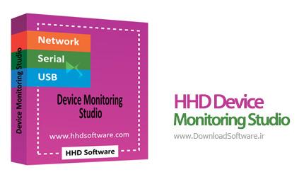 دانلود HHD Device Monitoring Studio Ultimate نرم افزار نظارت و تحلیل سریال پورت ها