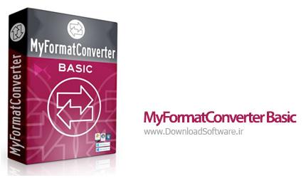 دانلود MyFormatConverter Basic نرم افزار مبدل صوتی و تصویری