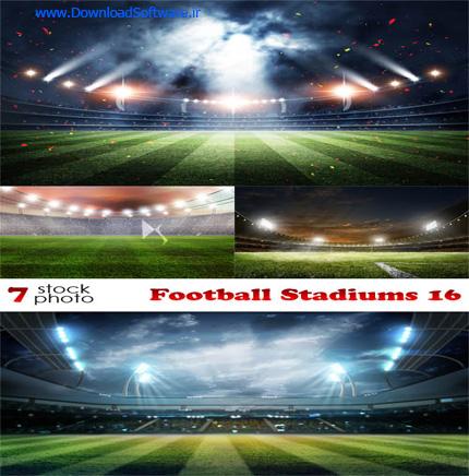 دانلود 7 تصویر استوک از استادیوم فوتبال