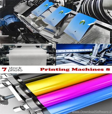 دانلود 7 تصویر استوک از ماشین های پرینتر