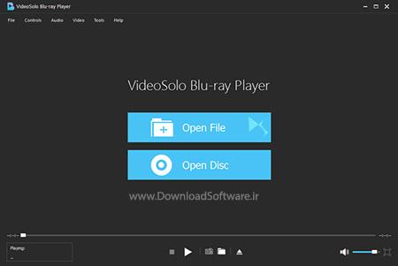 دانلود VideoSolo Blu-ray Player نرم افزار پخش فیلم های بلوری