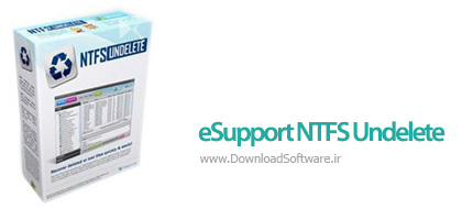 دانلود eSupport NTFS Undelete نرم افزار بازیابی فایل ها از هارد NTFS