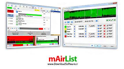 دانلود mAirList Professional Studio - نرم افزار ساخت و مدیریت ایستگاه رادیویی