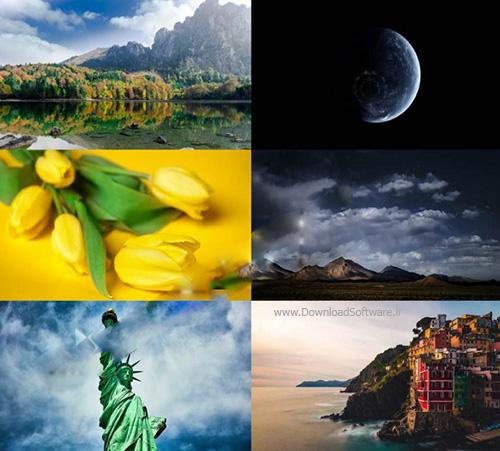 دانلود 10 تصویر والپیپر iMac با کیفیت بالا