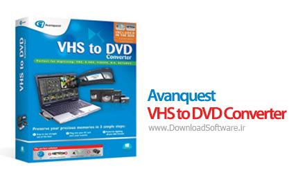 دانلود Avanquest VHS to DVD Converter نرم افزار تبدیل VHS به DVD