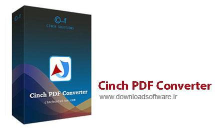 دانلود Cinch PDF Converter نرم افزار تبدیل فایل PDF