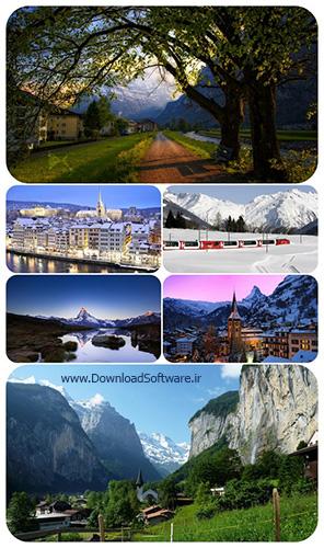 دانلود مجموعه تصاویر والپیپر از کشورهای جهان سوئیس