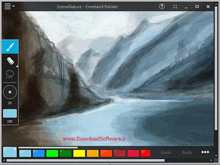دانلود Freehand Painter نرم افزار کشیدن نقاشی دستی