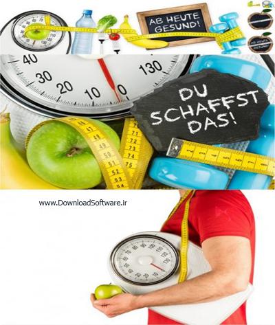 دانلود تصاویر مفهومی از تغذیه سالم