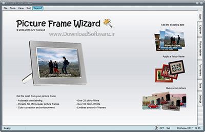 دانلود Picture Frame Wizard نرم افزار ابزار کار با تصاویر