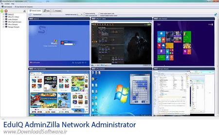 دانلود EduIQ AdminZilla Network Administrator – نظارت بر سیستم های شبکه