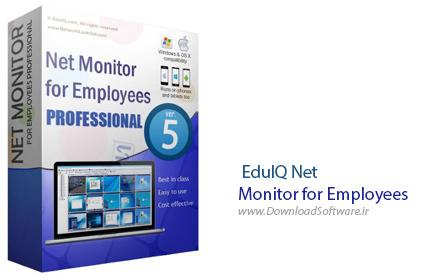 دانلود EduIQ Net Monitor for Employees Pro - نرم افزار کنترل کامل شبکه