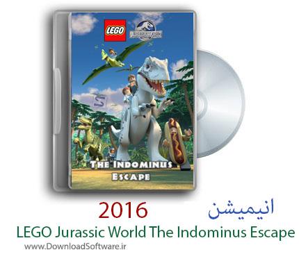 دانلود انیمیشن LEGO Jurassic World The Indominus Escape 2016