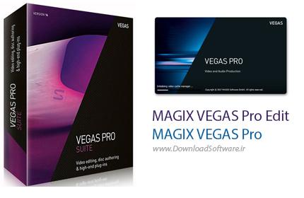 دانلود MAGIX VEGAS Pro Edit / Pro نرم افزار استودیوی دیجیتال جهت ویرایش و تدوین فیلم ها و کلیپ های با کیفیت